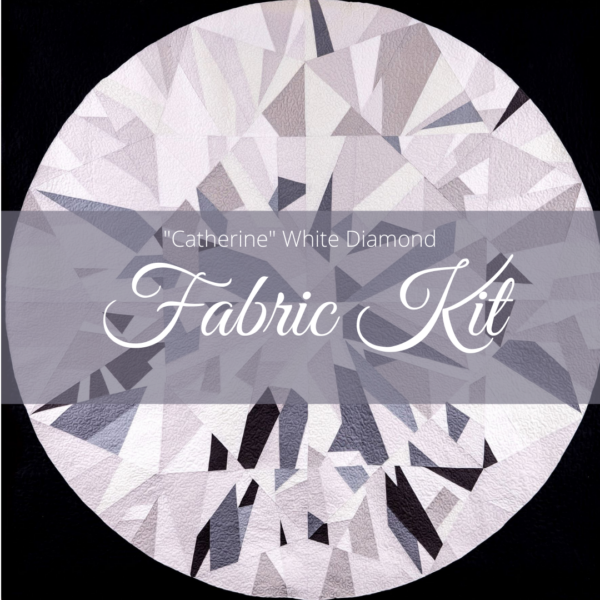 Catherine White Diamond Fabric Kit Photo
