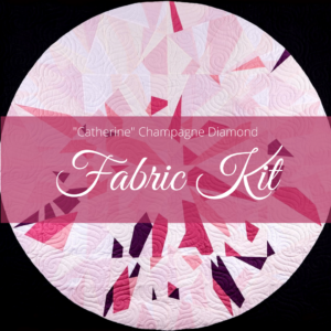 catherine champagne fabric kit