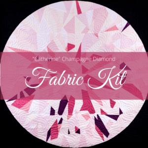 Catherine champagne Diamond Fabric Kit photo