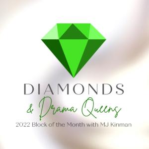 Diamonds Drama Queens Logo 2022 squarer smaller rev