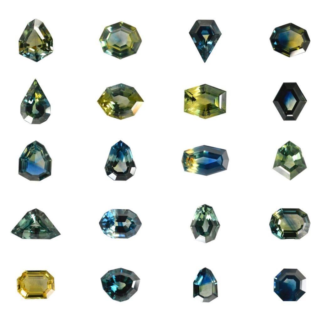 09 Parti Sapphires Shapes