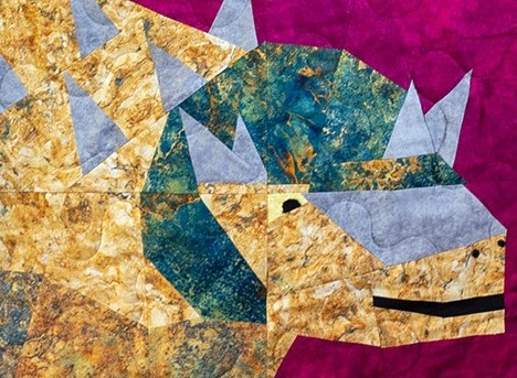Mighty Magnus Sampler Quilt Ankylosaurus Copy