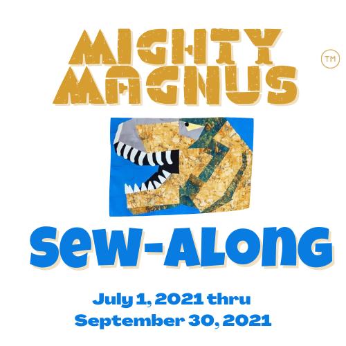 Mighty Magnus Sew Along Logo