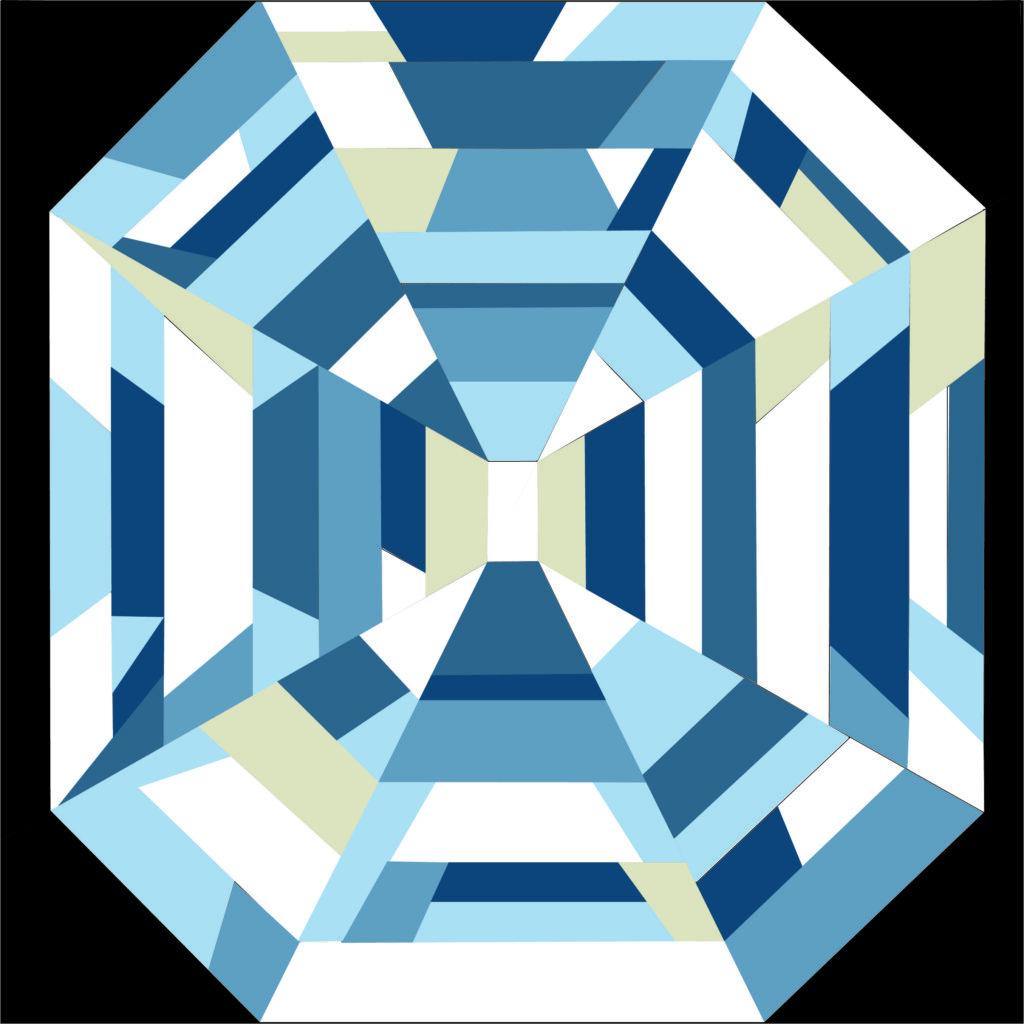 Peggys Prize June 2021 Blue Colorway
