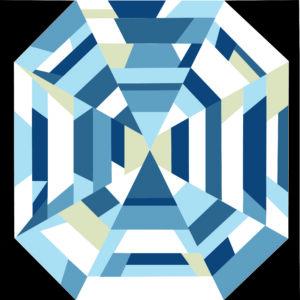 Peggys Prize June 2021 Blue Colorway No culet jpg