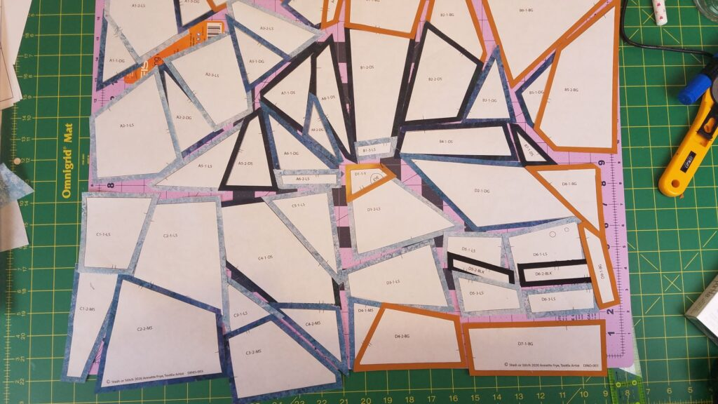 Piece Plan all 4 blocks 1