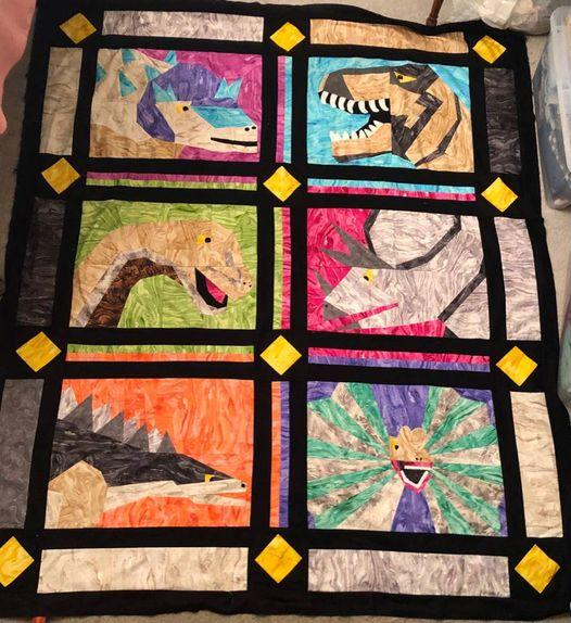 Full Dino Quilt 2 1